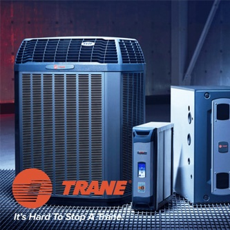 Trane heaters and air conditioners