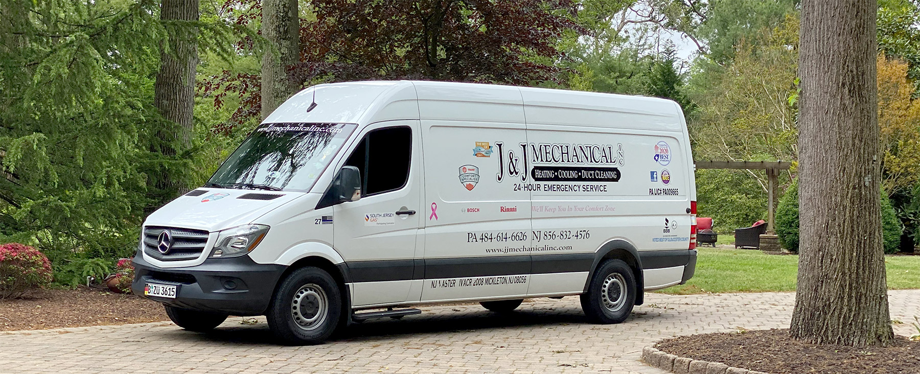 J&J Mechanical Van